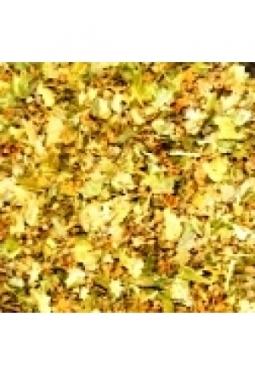 Lindenblüten geschnitten