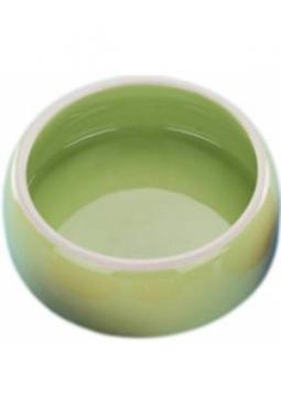 Keramik Futtertrog grün 500ml