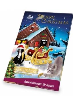 JR FARM Katzen-Adventskalender (getrei..
