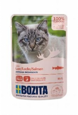 Bozita Pouch HiS Lachs (Katze,85g)