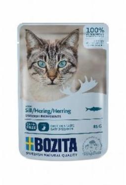 Bozita Pouch HiS Hering (Katze,85g)