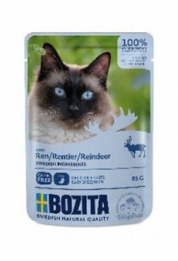 Bozita Pouch HiS Rentier (Katze,85g)