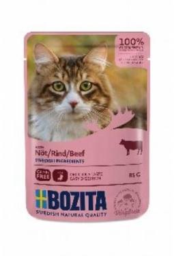 Bozita Pouch HiS Rind (Katze,85g)
