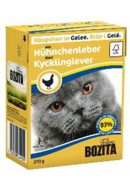 Bozita Feline HiG mit Hühnchenleber (K..