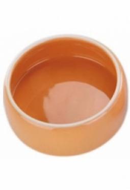 Keramik Futtertrog orange 250ml (Occas..