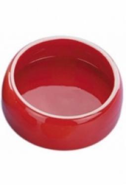 Keramik Futtertrog rot 250ml (Occasion)