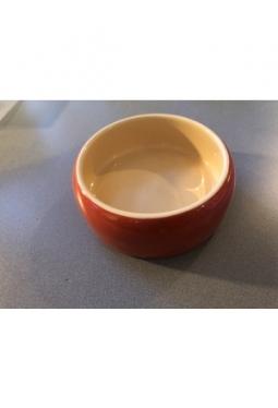 Keramik Futtertrog rot (Occasion)