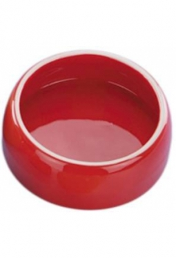 Keramik Futtertrog rot 500ml