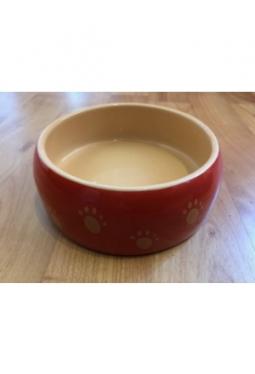 Keramik Futtertrog orange mit Taze Occasion