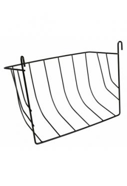 Heuraufe zum Einhängen aus Metall gross